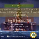 Upcoming Paper Discussion: Overpressure and Mudrock Compaction in Lower Kutai Basin