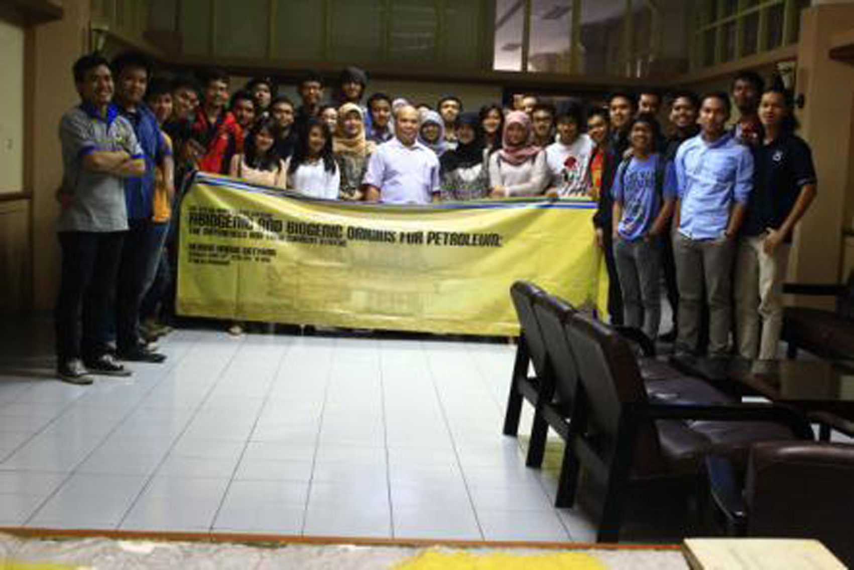 Photo Session of Lecture with Mr. Awang Harun Satyana (SKK Migas)