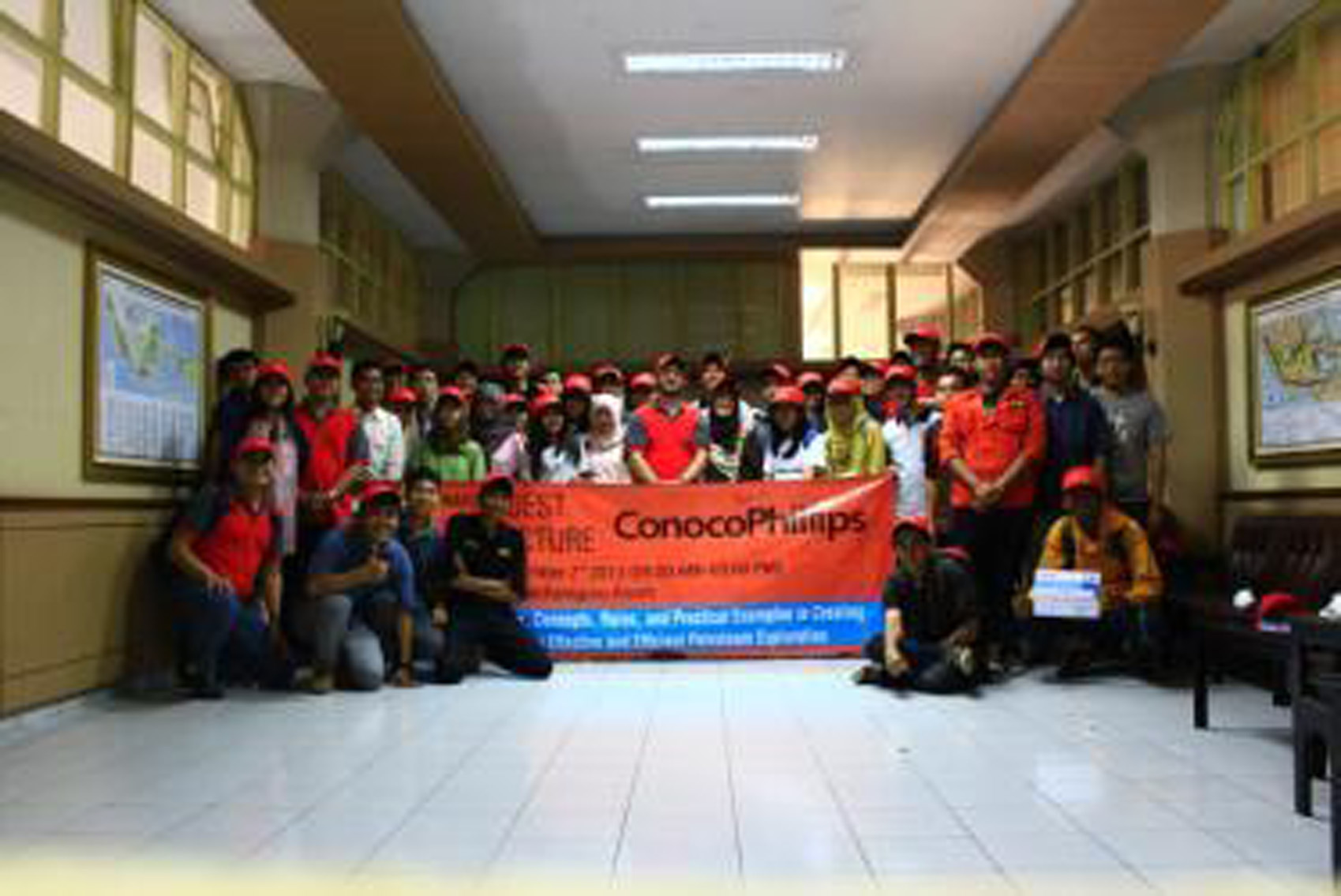 Photo Session of Lecture with ConoccoPhillips
